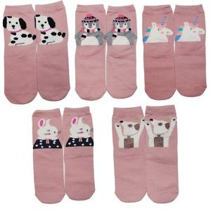 Accessories - Cute Adorable Soft Socks BNWT 5 pairs